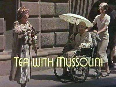 The Tea With Mussolini Gallery   on YCDTOTV.de       Path: www.YCDTOT.de/twm_img/e1_006.jpg